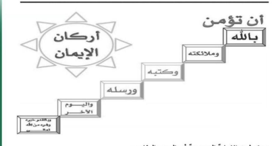 أوراق عمل تربية إسلامية الوحدة الثالثة صف أول فصل ثاني