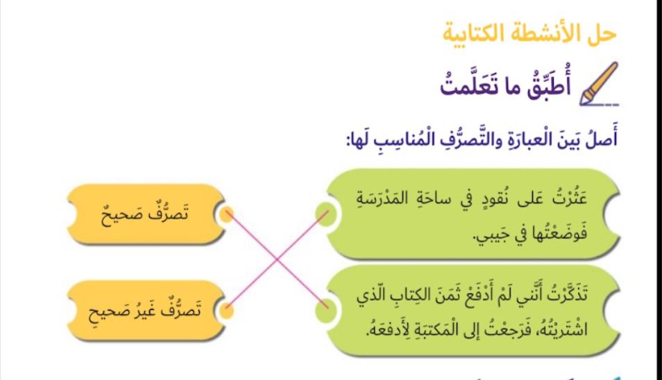 حل درس وطني مسؤوليتي دراسات اجتماعية وتربية وطنية الصف الثاني