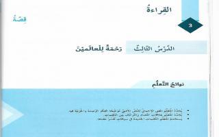حل درس رحمة للعالمين لغة عربية الصف السادس