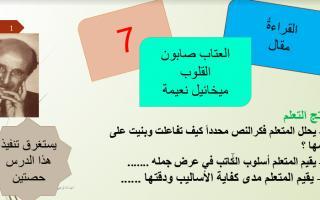 حل درس العتاب صابون القلوب لغة عربية صف عاشر