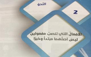 حل درس الأفعال التى تنصب مفعولين ليس اصلهما مبتدأ وخبر لغة عربية صف تاسع