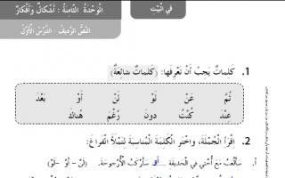 حل النص الرديف الدرس الأول لغة عربية كتاب النشاط للصف الثاني