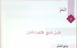 حل درس التركيب النعتي لغة عربية الصف السادس