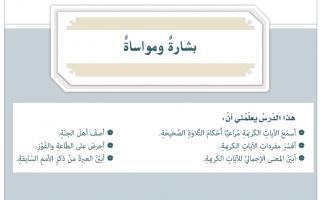حل درس بشارة ومواساة إسلامية الصف السابع
