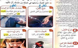 حل درس الانتصار على الخجل لغة عربية صف خامس